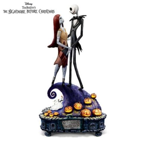 musical figurines the nightmare before simply meant to be and