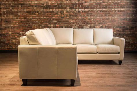 condo sectional sofa canada classic leather sectional condo series leather sofa