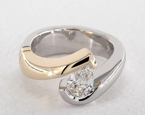 Pear Shaped Engagement Rings   Jamesallen.com