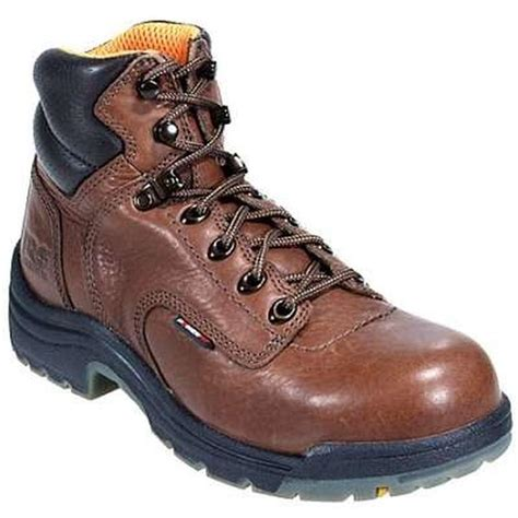 timberland work shoes womens timberland s 6 inch titan steel toe work boots 26388