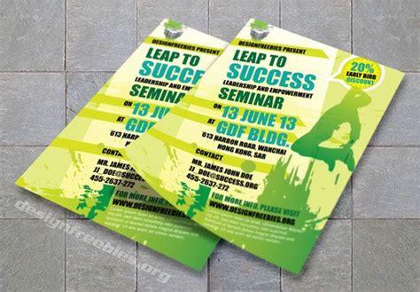 adobe illustrator flyer templates free adobe illustrator promotional flyer template green