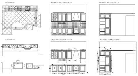 archweb cucine cucine 2d disegni di cucine in dwg 2