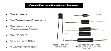 standard resistor is made up of i m 100 meg standard resistors and as 10 meg hamons as well page 1