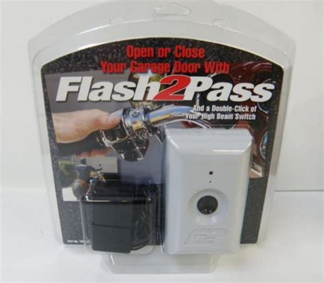 Garage Door Opener For Motorcycles Flash 2 Pass Flash Pass Motorcycle Garage Door Opener Ebay