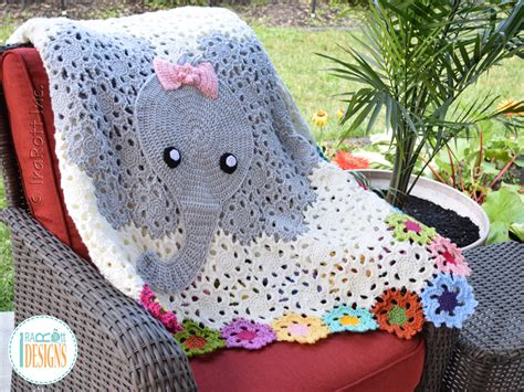 crochet pattern elephant baby blanket irarott inc a place where yarn meets fun