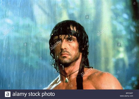film rambo first blood part ii 1985 sylvester stallone rambo first blood part ii 1985 stock