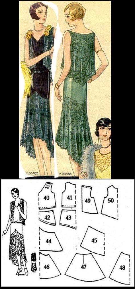Vintage Celana Kulot 17 best images about sew inspired on free sewing 1920s and sewing patterns