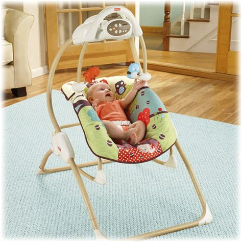 2 in 1 swing and rocker object moved