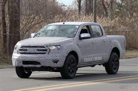 ranger ford 2019 spied 2019 ford ranger mule says g day mate