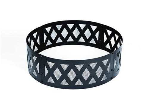 Backyard Creations Ring Backyard Creations 36 Quot Black Lattice Ring At Menards 174