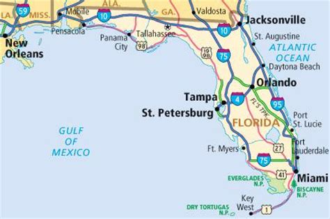 florida beaches gulf coast map florida map of beaches on gulf coast images