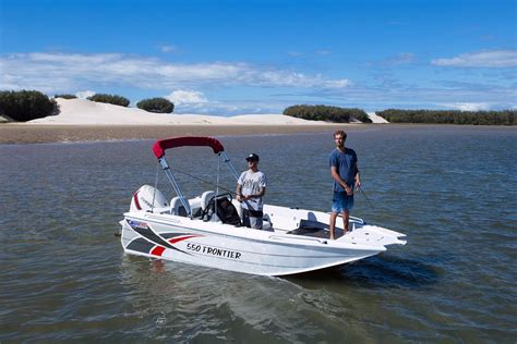 new aluminium boats for sale qld new quintrex 550 frontier power boats boats online for