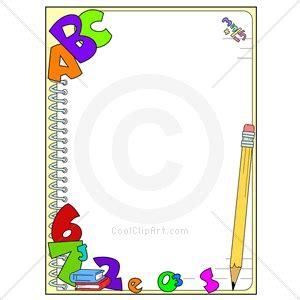 primer design reading frame school borders clipart 2152154