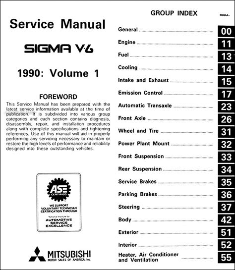 free download parts manuals 1994 mitsubishi 3000gt on board diagnostic system service manual pdf 1990 mitsubishi sigma repair manual mitsubishi sigma steering service