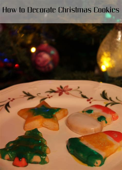 how to decorate christmas cookies momstart