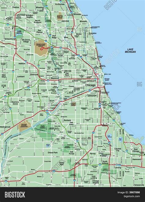 chicago area map chicago area map map chicago area united states of america