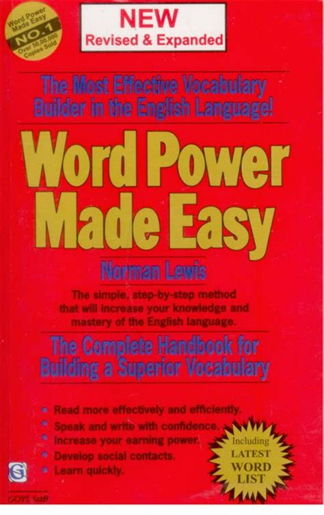 Pdf Word Power Made Easy Vocabulary by Ebook Word Power Made Easy Version In Pdf Format