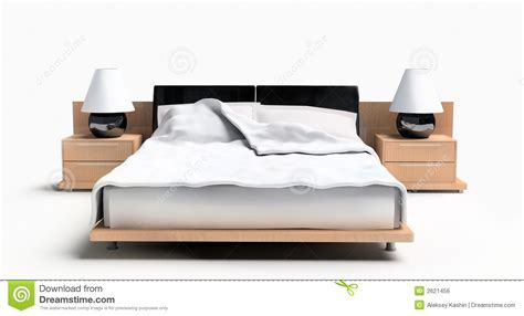 bed image bed on a white background royalty free stock image image