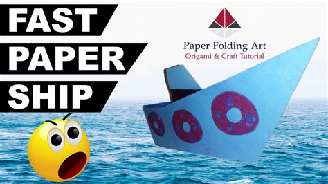 How To Make Paper Levitate - how to make a paper ship origami ship float on water best
