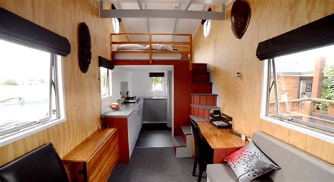 micro homes interior 16 tiny houses you wish you could live in tiny house on wheels with indoor outdoor entertaining