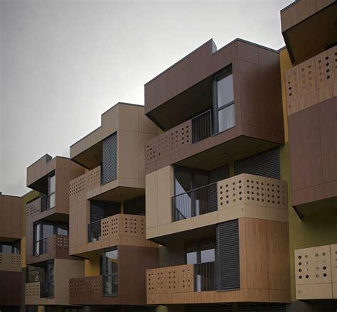 Imagenes De Apartamentos Minimalistas | imagenes de fachadas de departamentos peque 241 os modernos
