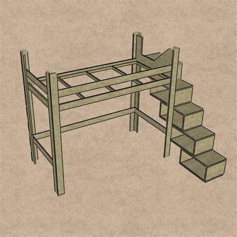 Bau Dein Schrank by Die Besten 25 Hochbett Bauen Ideen Auf