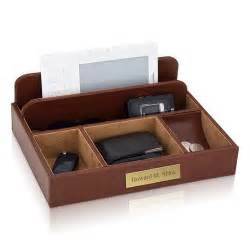 personalized brown leather mens valet
