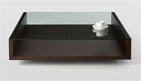 modern wood and glass coffee table 25 best ideas about glass coffee tables on