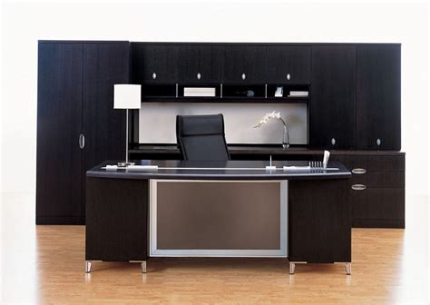 Modern Black Desk Modern Black Executive Desk Black Executive Desk For Office Home Design