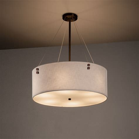 Justice Lighting Fixtures Justice Design Fab 9532 Finials Textile Ceiling Light Fixture Jus Fab 9532