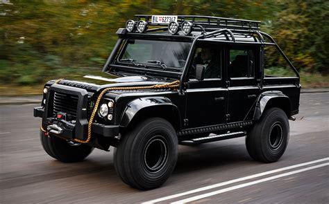 jaguar land rover defender spectre land rover 110 double cab 6 seater 4x4 gta5 mods com