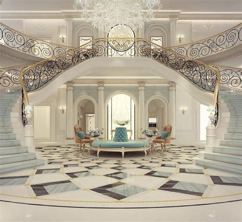mansion foyer luxury mansion interior grand staircased foyer