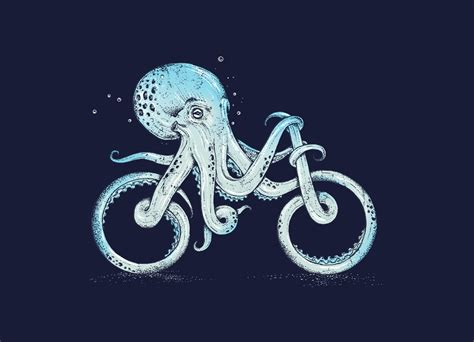 Duvet Bags Octopus Bike By Alan Maia Threadless