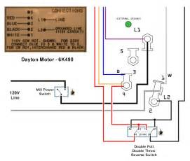 dayton motor 6k490 wire diagrams easy simple detail ideas general exle dayton electric motor