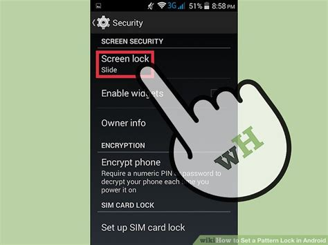 android pattern lock vs pin how to set a pattern lock in android 7 steps with pictures