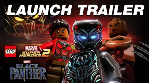 lego 174 marvel super heroes 2 black panther dlc trailer black panther dlc for lego marvel super heroes 2 available