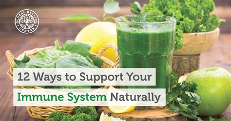 Immune System Detox Diet by 12 Ways To Support Your Immune System Naturally