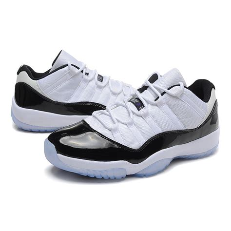 cheap boots for air 11 retro concord low white black cheap