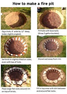 how to dig a fire pit in your backyard 1000 ideas about rock fire pits on pinterest outdoor