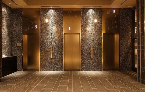 Lift Lobby Picture Of Hotel Monterey Hanzomon Chiyoda Lam Lighting Design