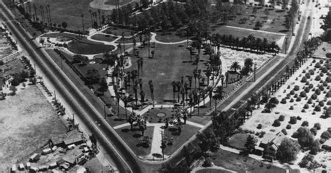 barber downtown anaheim la palma park of anaheim with glover stadium on the top