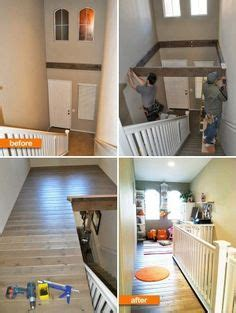 barnwood for the wasted space above the stairs make use of the dead space above the existing stairs the stairs raise up when the library isn