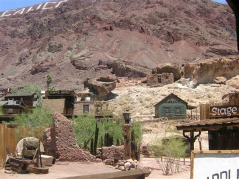 Calico Ghost Town Cing Cabins by Quot The Quot Photo De Calico Ghost Town Yermo Tripadvisor