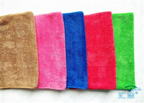 Cleaning Polyester Microfiber by High Pile 100 Polyester Microfiber Kitchen Towels