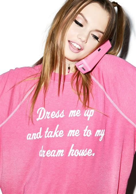 take me to my house wildfox couture take me to my dream house kim sweater dolls kill