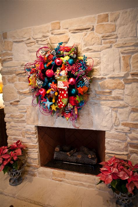 ideas pretties fireplace wreath you must see