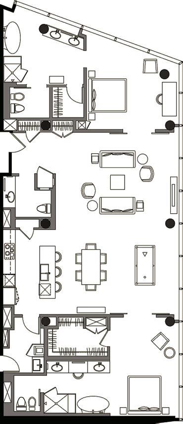 veer towers floor plans veer towers floor plan two bedroom penthouse vph 1a veer