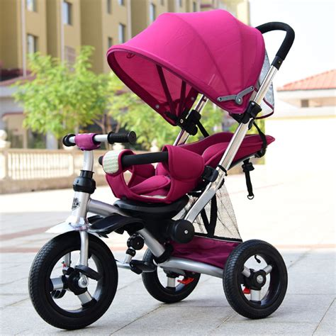 Sepeda Stroller Tricycle Import new design child tricycle baby stroller for 0 6 years bike bicycle moving baby bed can