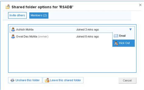 dropbox remove shared folder starter guide for dropbox