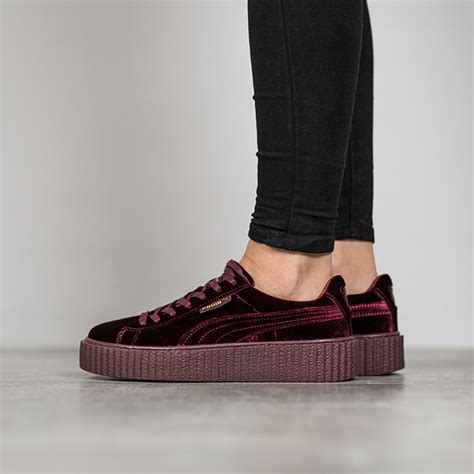 shoes by rihanna s shoes sneakers creeper velvet x rihanna